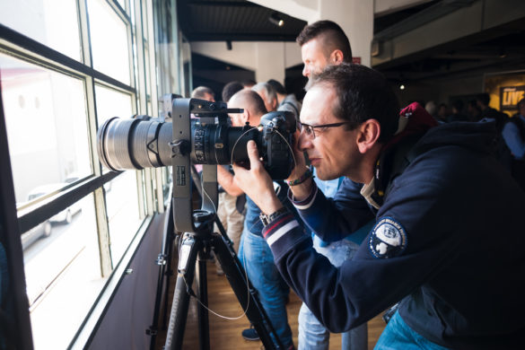 MILAN, ITALY - SEPTEMBER 27: Nikon Live in Milan, Italy on September, 27 2014. Nikon Live is the first Nikon event in Italy where thousand of people meet great photographers and known new Nikon products